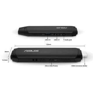 華碩 VivoStick四核電腦棒-攜帶方便的迷你PC 便宜出清求現