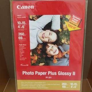 """Canon Photo Paper (4"""" x 6"""") 佳能相片紙"""