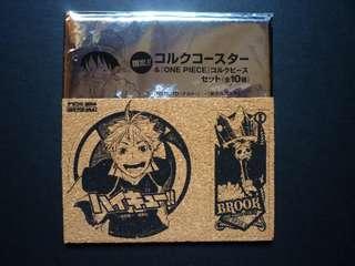 One Piece - Haikyuu!! - Brook - Hinata Shouyou - Coaster