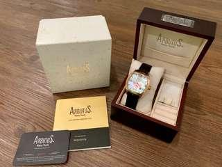 Arbutus New York, AR0060 Rose Gold Limited Edition Automatic Watch