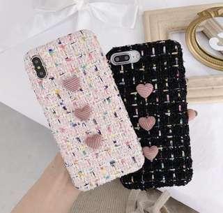 🚚 3D Heart shape iPhone casing
