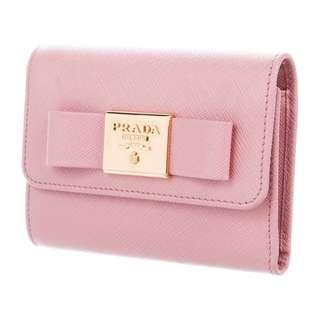 Prada Fiocco Compact Wallet