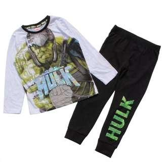 Authentic Hulk Marvel Avengers pj pajama for boy 8-14yrs old