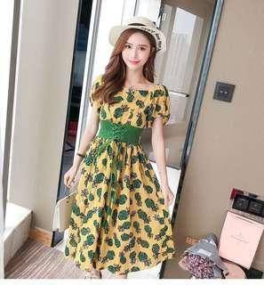 Dahlia Floral Dress