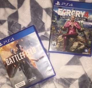 Battlefield and Farcry