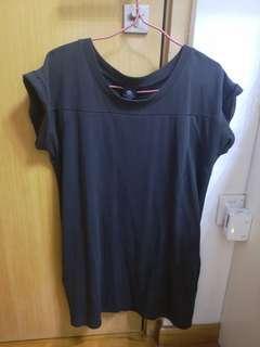 🚚 Basic Kahki cap sleeve dress
