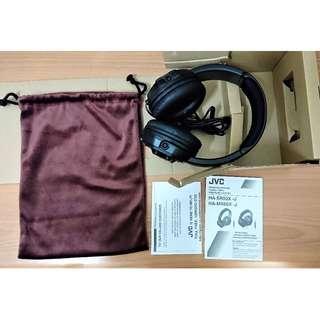 全新JVC HA-MR60X 重低音高音質有線耳機