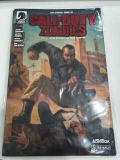 🚚 Call Of Duty Zombie Dark Horse #1
