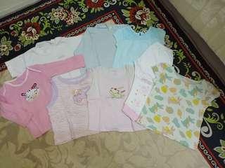 Preloved baju bayi ( take all)