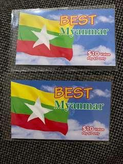 🚚 Myanmar Call Card