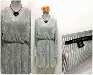 New look pleated dress