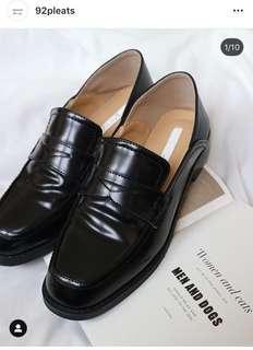 🚚 92pleats 2ways低跟樂福鞋
