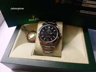 勞力士Rolex 214270 Explorer 2014亂碼卡888