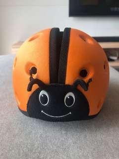 🚚 英國 SafeheadBABY 幼兒學步防撞安全帽 瓢蟲帽