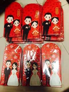 Wedding red packets / Ang Bao