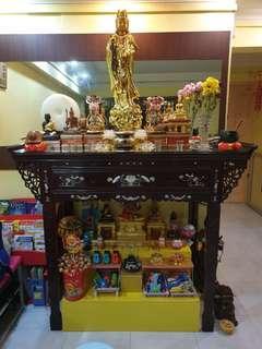 Preloved Rosewood Altar Table