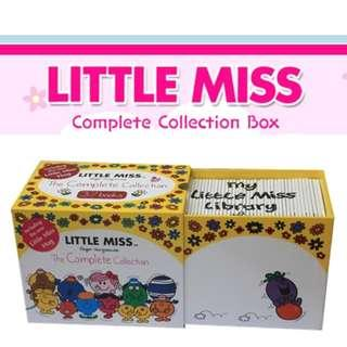 Little Miss : The Complete Collection - 37 Books