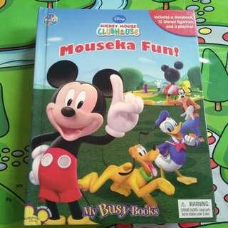 Mouseka Fun! My Busy Books From Micky Mouse Clubhouse
