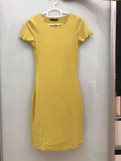 Cotton On Mustard Dress