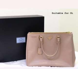 e8f9c6377b04 PRADA galleria lux leather bag