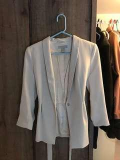 Blazer H&M 白色西裝外套 women's Top