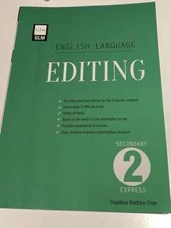 🚚 Secondary 2 Editing