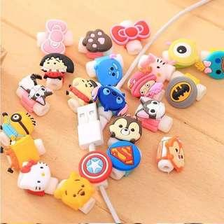 Cute Cable protector for iphone and android