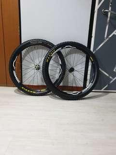 Mavic XA Boost wheelset 27.5