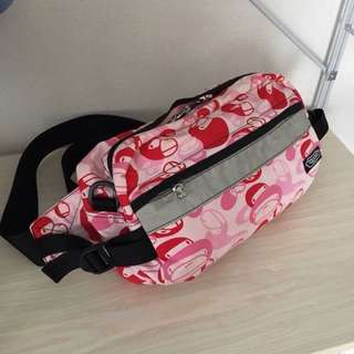 9fdef51413a8 BAPE BABY MILO Classic Nigo Pink Belt Bag