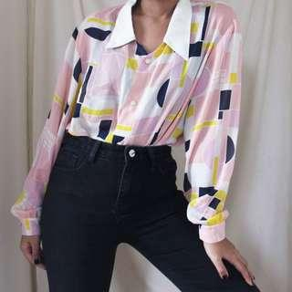 PRETTY IN PINK Vintage Inspired Top