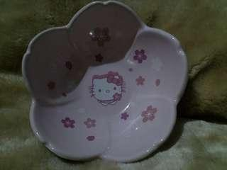 Sanrio Hello Kitty櫻花花形陶瓷碗 711