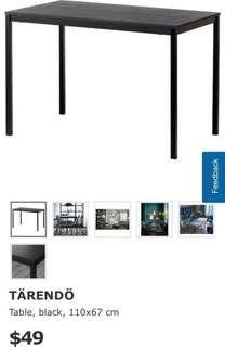 🚚 IKEA Tarendo Table