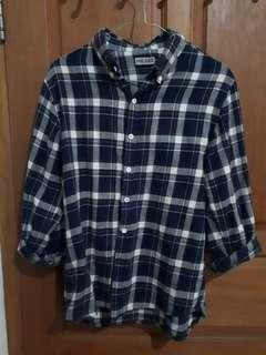 Flannel Shirt Mr Dee Size M fit to S