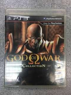 PS3 game God Of War Collection