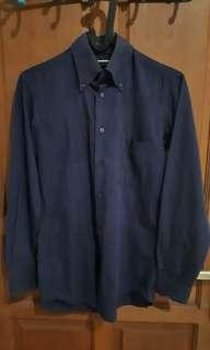 Kemeja Formal Navy Shirt Factory