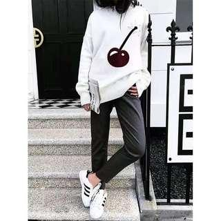 White Cherry Sweater
