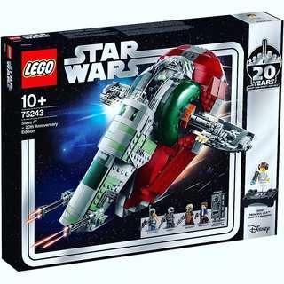 Lego Star wars 75243 Slave I 20th Anniversary Edition 同系 75258 75261 75262 75236 75238 75241