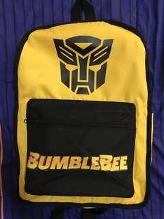 Bumblebee Bundle Backpack ( Reversible ) 2019 Limited Key chain Cube with Free Shirt