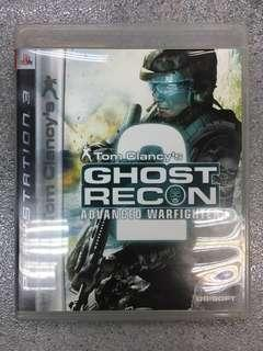 PS3 game Ghost Recon 2 Advanced Warfighter