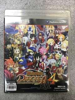 PS3 game Disgaea 4 魔界戰記4