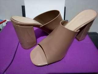 Primadonna chunky heels (USED ONCE)