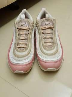 🚚 Nike airmax 97 粉橘色子彈鞋