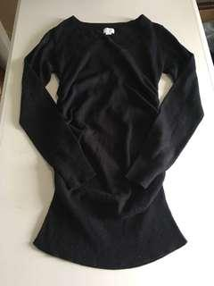 Suzy Shier Black Shirt Size Small