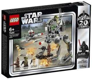 Lego Star wars 75261 Clone Scout Walker 20th 同系列 75258 75243 75262 75236 75240