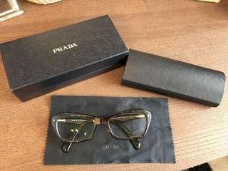 Prada Dark Tortoise Glasses (-0.50 prescription)