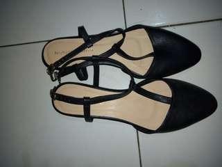 Flat shoes nicholas edison (ori)