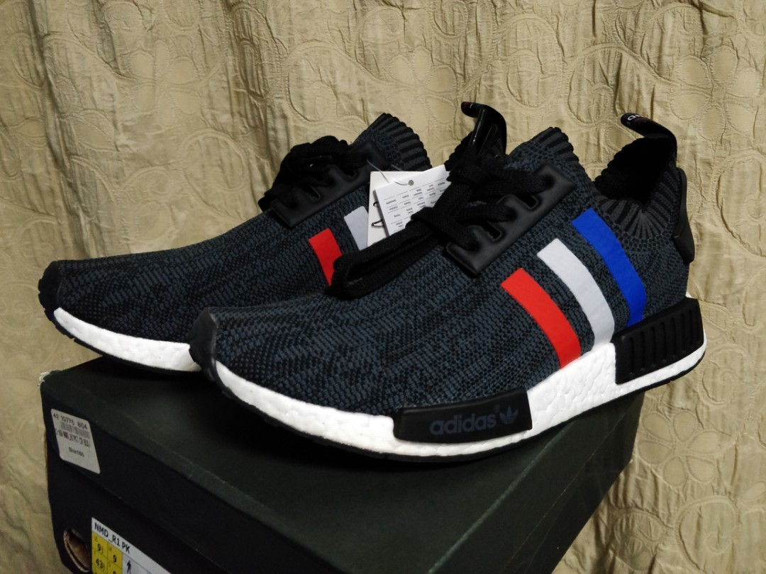 new product 67669 6301d Adidas NMD Tri Colour Black UK9/US9.5