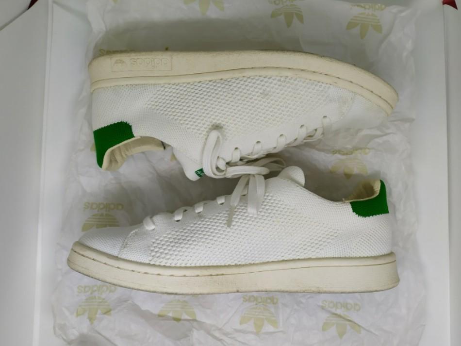 hot sale online a3afc c12a8 Adidas Stan Smith OG Primeknit (White/Green) Size US 7.5 UK ...
