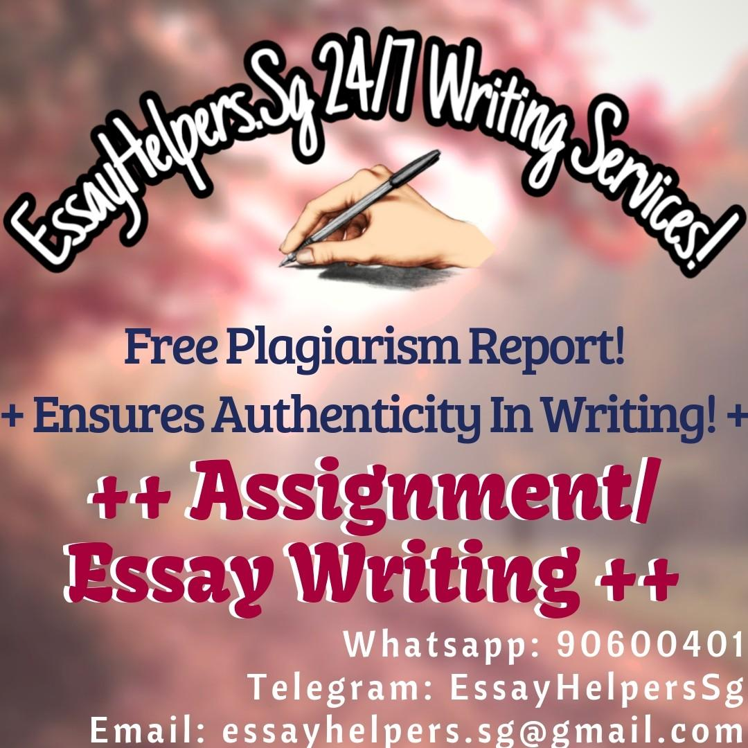 Assignment/Essay Writing Service