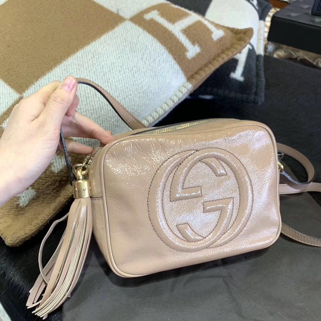 b0105c15a Authentic Pre-loved Gucci Soho Disco Bag, Luxury, Bags & Wallets on  Carousell